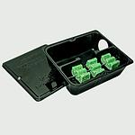 STRONGBOX STEEL BAIT STATION BLACK