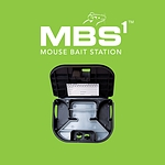 MBS1 Mouse Bait Station and Insect Monitoring Device (BLACK)