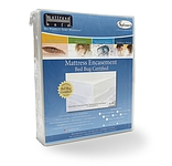 "SOFCOVER SUPERIOR MATTRESS ENCASEMENT AND PROTECTOR 16-22"" DEPTH WHITE"