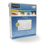 SOFCOVER ULTIMATE MATTRESS ENCASEMENT AND PROTECTOR WHITE