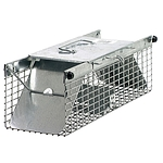 Havahart Live Animal Two-Door Squirrel, Chipmunk, Rat, and Weasel Cage Trap
