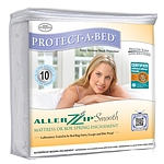 ALLERZIP SMOOTH MATTRESS ENCASEMENT CAL KING 13""