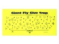 FLY GLUE TRAP WITH ATTRACTANT