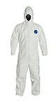 TYVEK COVERALL WITH HOOD